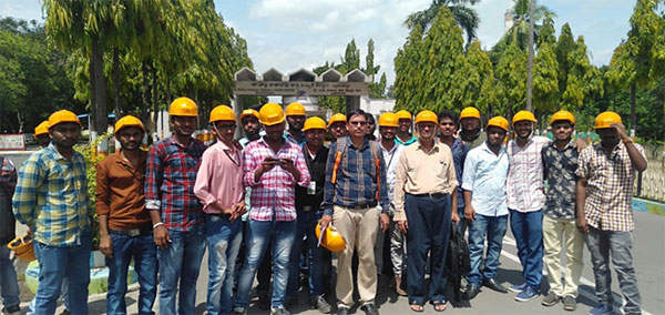 narla tatarao thermal power plant industrial visit 2019 2
