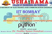Python workshop july 2018 banner