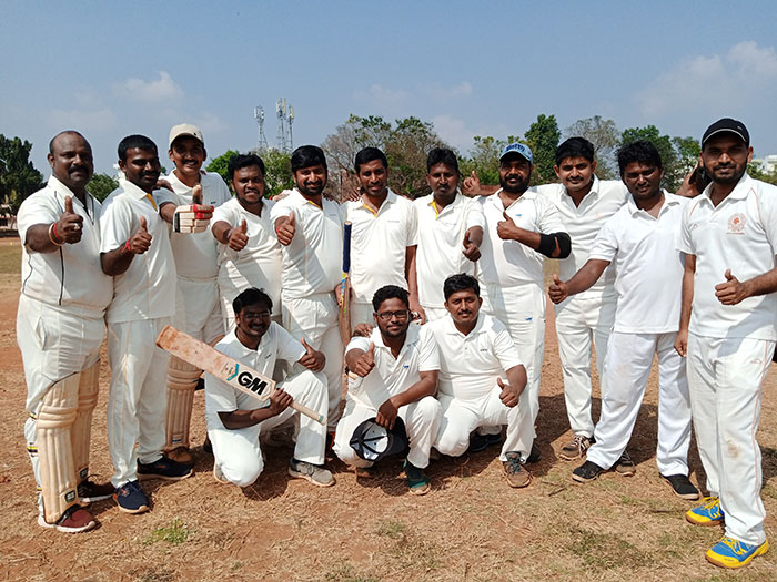 Chandu's National Cricket tournament 2