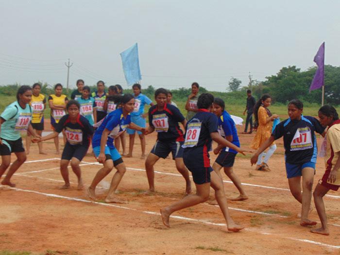 Jntuk Women Kabaddi Team Selection Trails 2