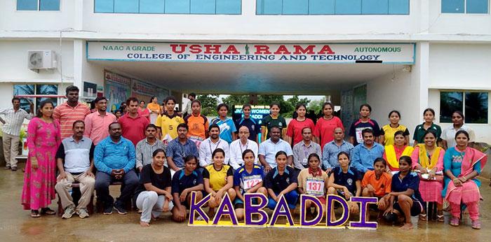 Jntuk Women Kabaddi Team Selection Trails 4