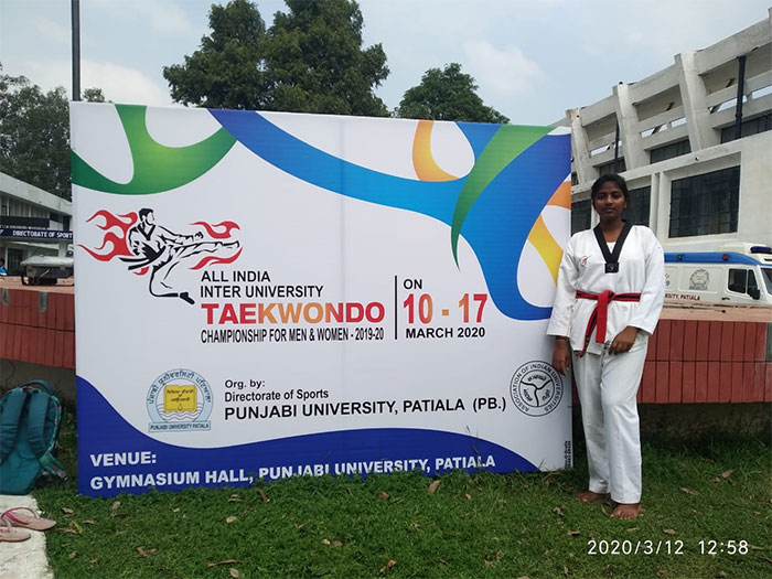 3rd Ece Student Has Been Selected In Jntuk University Team 4