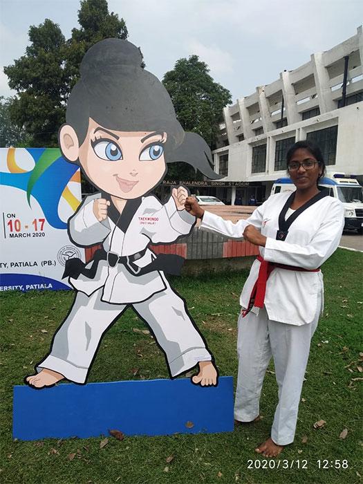 3rd Ece Student Has Been Selected In Jntuk University Team 5