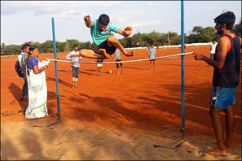 High Jump Pit 1