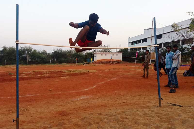 High Jump Pit 2